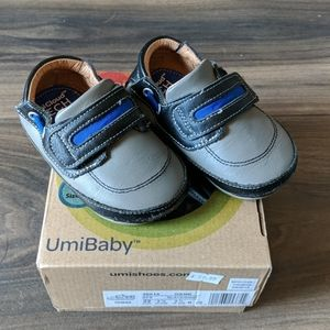 Umi Baby Genuine Leather Shoes, size 6.5 US
